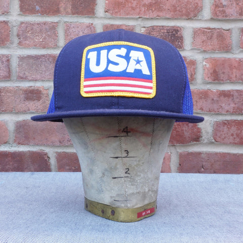 Coal x DDC USA Trucker Hat, NAVY