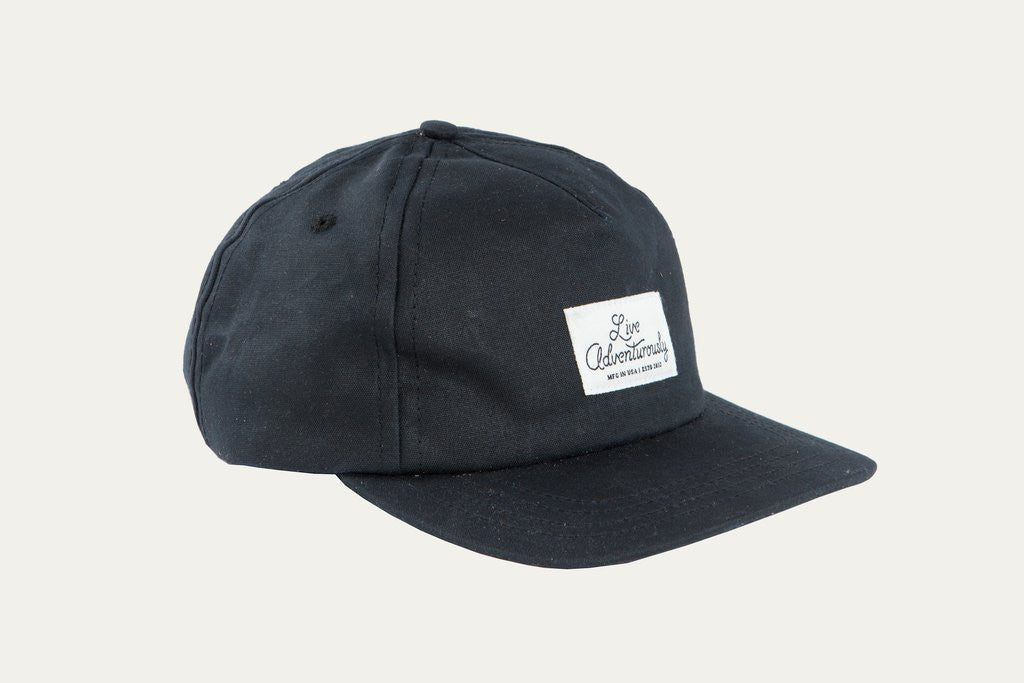 Bradley Mountain Black Logo Cap