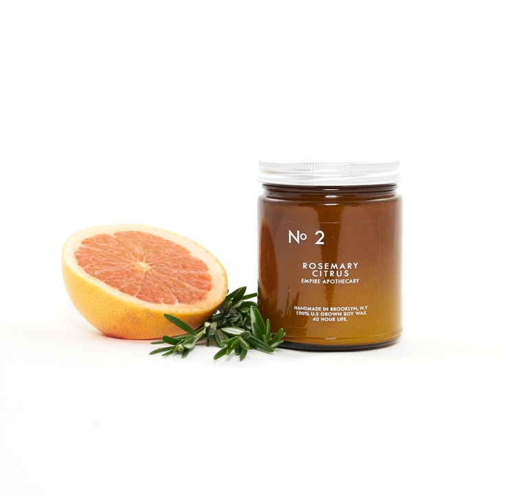 Empire Apothecary No. 2 - Rosemary Citrus Candle