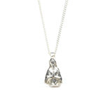 Load image into Gallery viewer, Gothic Half Mary Pendant