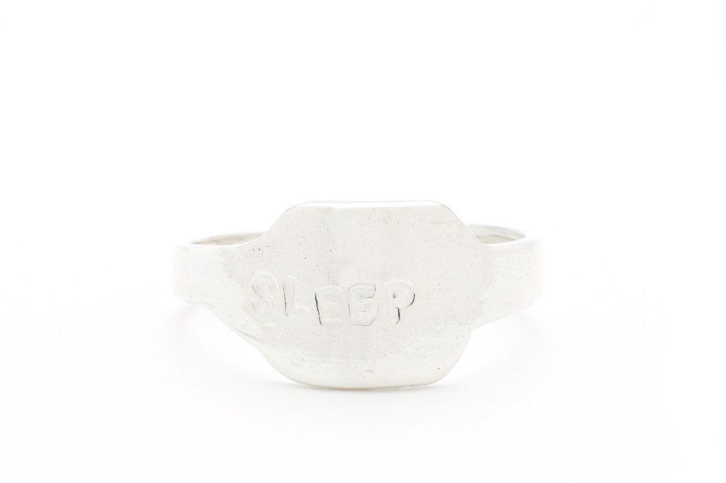 Sleep Silver Ring