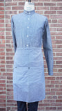 Loren Mfg. Blue Chambray Long Waist Apron