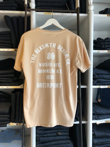 2019 tees blksmth tan with white