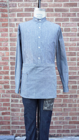 Loren Mfg. Chambray Short Waist Apron