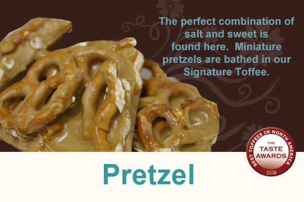 Pretzel Toffee - Toffee Break Desserts