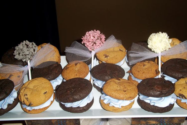 Assorted Cookie Sandwiches - Toffee Break Desserts