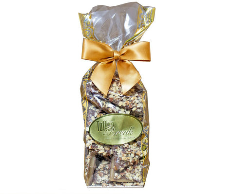 Specialty Toffee Golden Gift Bag 1/2 lb.
