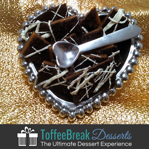 We Love Toffee Break - Pearl Heart Collection, Toffee Gift