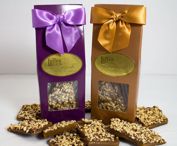 Secret Stash - Toffee Gift Box 4oz or 10 oz. - Toffee Break Desserts