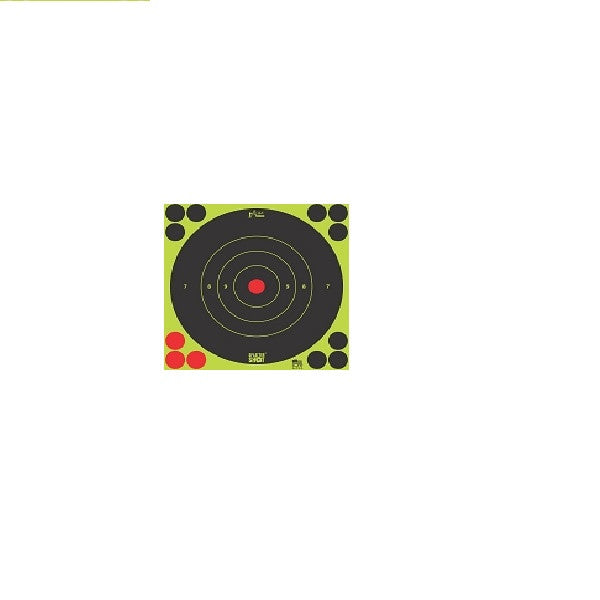 12'' SplaterShot Bullseye Peel & Stick Target - Tactical-Canada