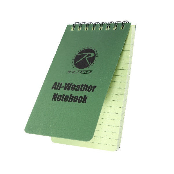 Rothco All Weather Waterproof Notebook - Tactical-Canada
