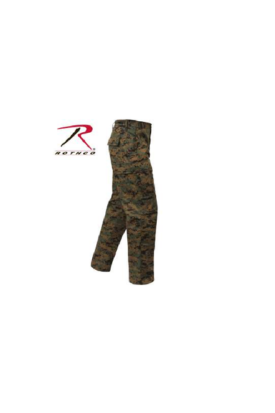 Rothco pants Digital Woodland - Tactical-Canada