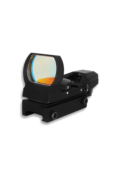 NcStar RED DOT REFLEX SIGHT /4 DIFFERENT RETICLES/WEAVER BASE/BLACK - Tactical-Canada