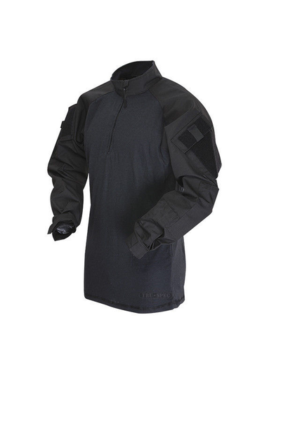 Tru-Spec combat shirt Black - Tactical-Canada