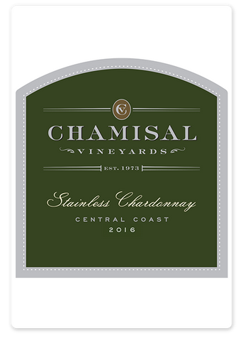 2016 Chamisal Vineyards Stainless Chardonnay