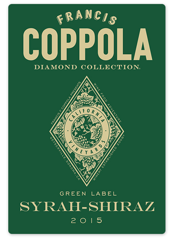 2015 Coppola Diamond Collection Syrah-Shiraz