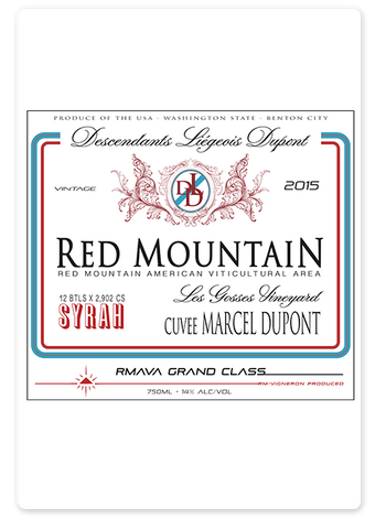 2015 Hedges Red Mountain Syrah