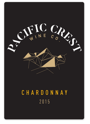 2015 Pacific Crest Wine Co. Chardonnay