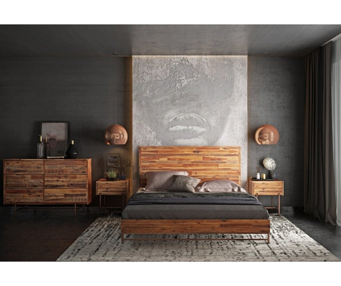 Modern Rustic Bedroom Set Will Have You Dreaming...