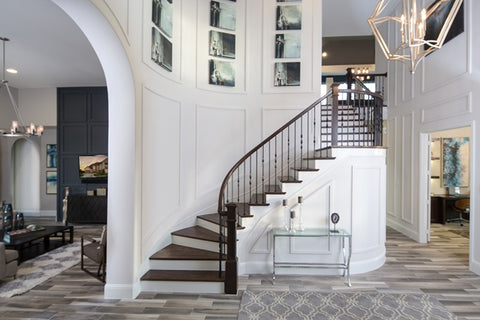 Dramatic Foyer | Linfield Design