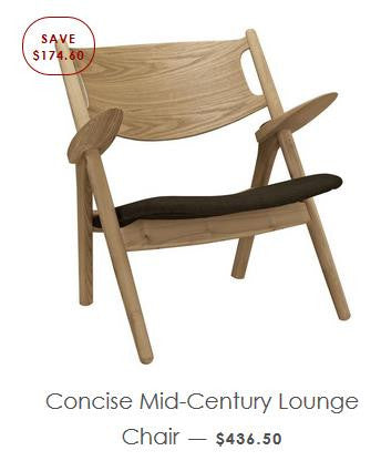 Mid-Century Wood Chair