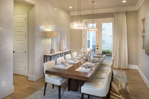 Two Chandeliers | Linfield Design