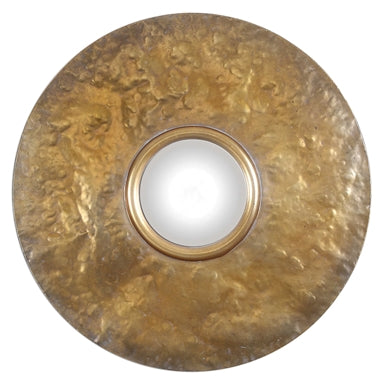 Uttermost Nedonas Oxidized Gold Mirror
