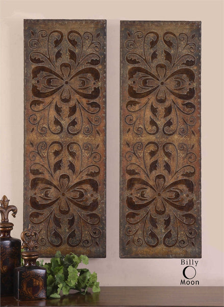 Uttermost Alexia Wall Panels, Set/2 - ModelDeco