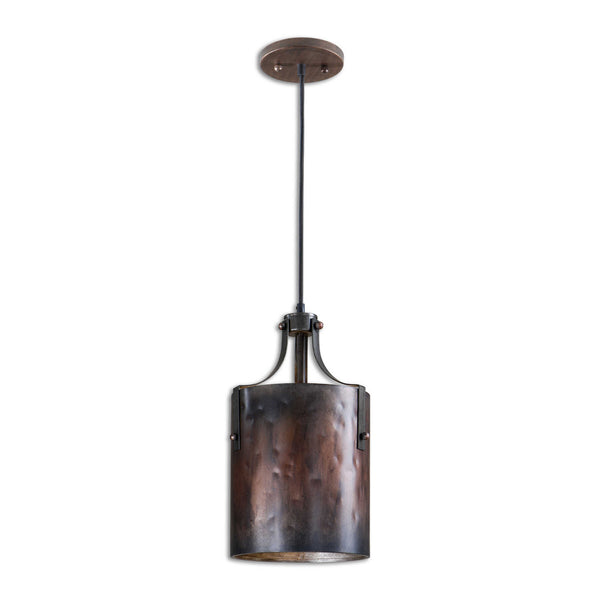 Uttermost Akron 1 Light Copper Mini Pendant BO TILL 10-10-17 - ModelDeco
