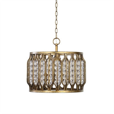 Uttermost Jensen 4 Light Swedish Iron Pendant - ModelDeco