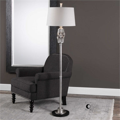 Uttermost Cadeyrn Forged Steel Floor Lamp - ModelDeco