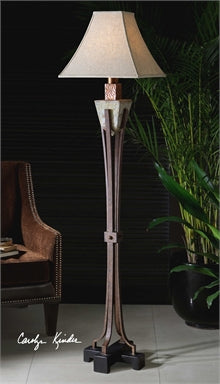 Uttermost Slate Metal Floor Lamp