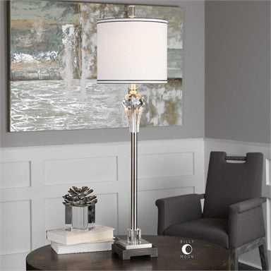 Uttermost Daisetta Cut Crystal Table Lamp - ModelDeco