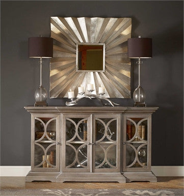 Uttermost Denia Gray Glass Table Lamp - ModelDeco