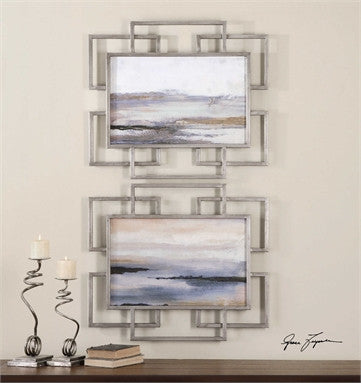 Uttermost Gray Mist Framed Art S/2 - ModelDeco