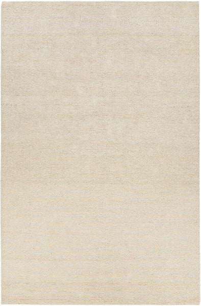 White Hand-Woven Contemporary Rug - ModelDeco
