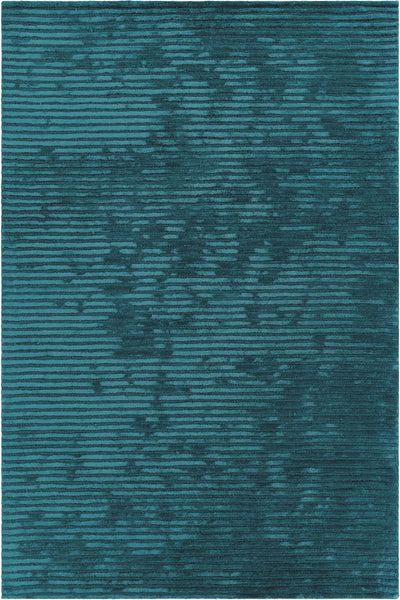 Angelo Contemporary Blue Hand-Tufted Solid Rug - ModelDeco