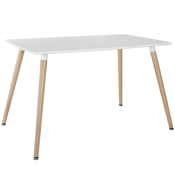Field White or Black Dining Table for Four - ModelDeco