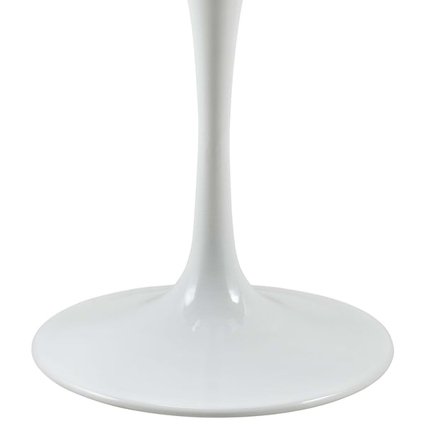 "Lippa 36"" White Breakfast Table for 2 - ModelDeco"