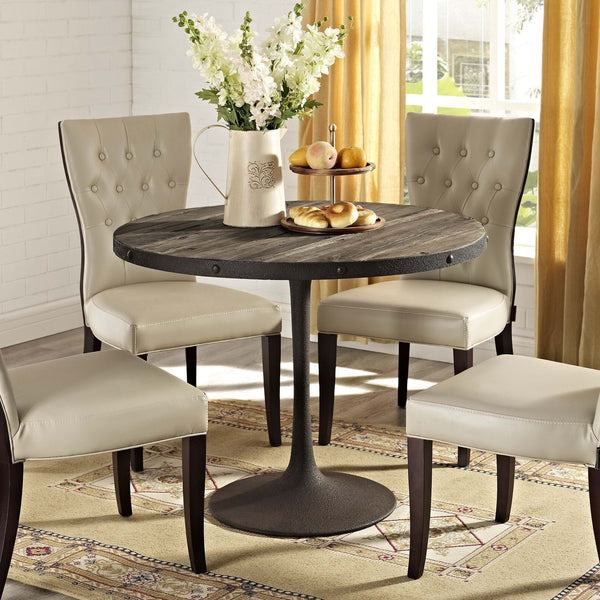 Drive Wood Round Dining Table - ModelDeco