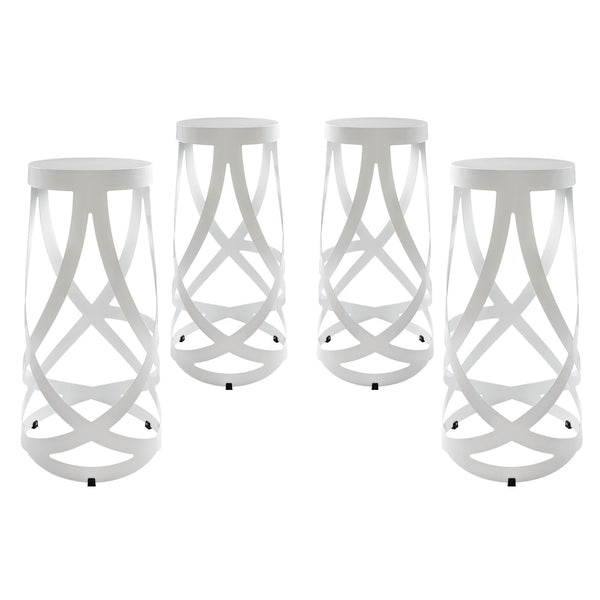 Ribbon Bar Stool Set of 4