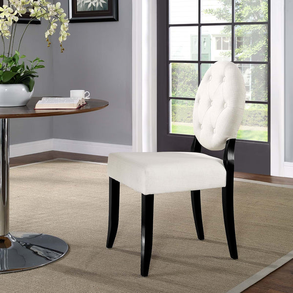 Button Modern Dining Chair - ModelDeco