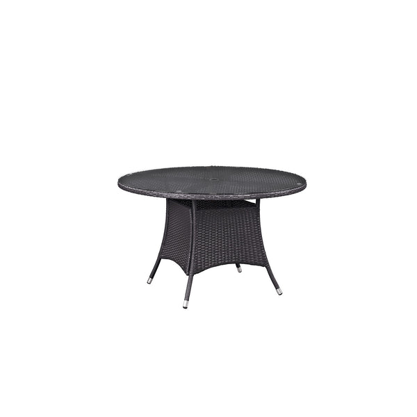 "Convene 47"" Round Outdoor Patio Dining Table"