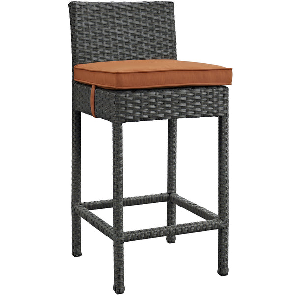 Sojourn Outdoor Patio Sunbrella® Bar Stool