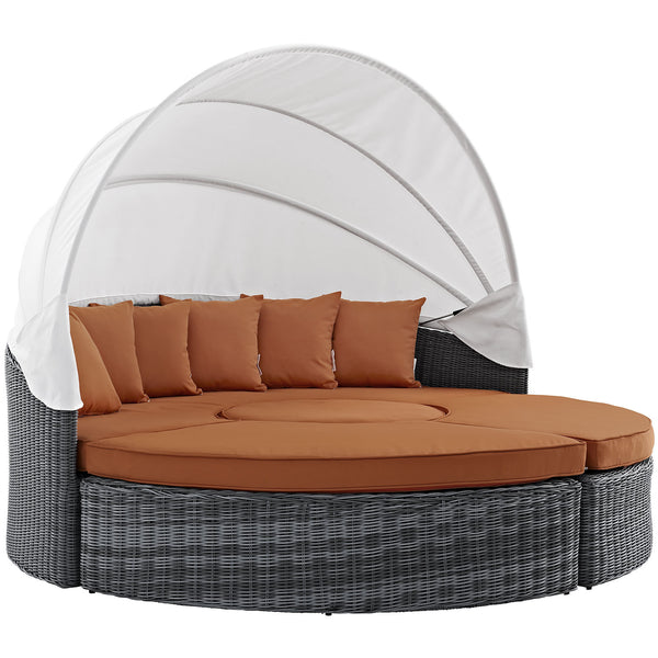 Summon Canopy Outdoor Patio Sunbrella® Daybed