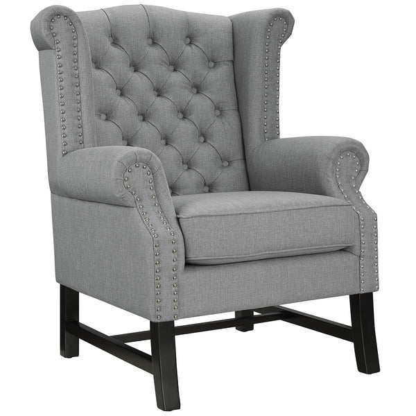 Steer Fabric Armchair