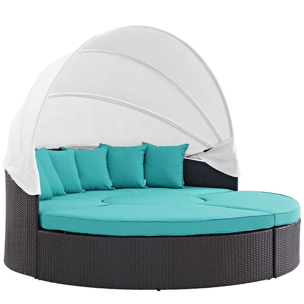 Convene Canopy Outdoor Patio 5 Daybed