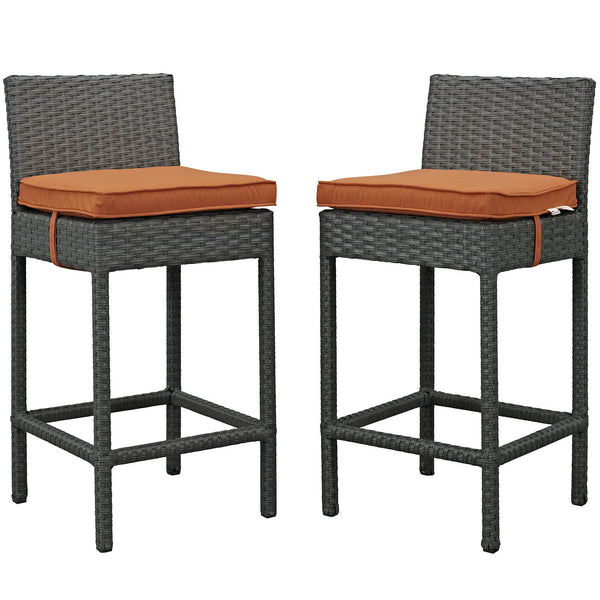 Sojourn 2 Piece Outdoor Patio Sunbrella® Pub Set