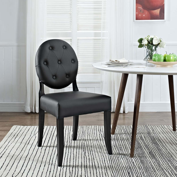 Button Modern Dining Side Chair - ModelDeco