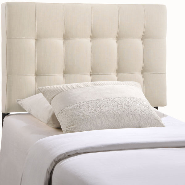 Lily Twin Fabric Headboard